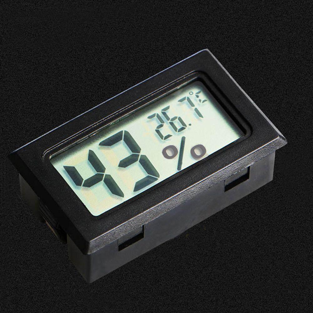 Cek Harga Yika Digital Room Thermometer Hygrometer Max Min Termometer Putih New Lcd Indoor Temperature Humidity Meter