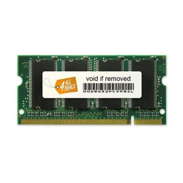 1GB Memory RAM Upgrade for the HP Pavilion ze2000, ze2000t, ze2000z and zt3000 Laptops (DDR-333, PC2700, SODIMM) - intl