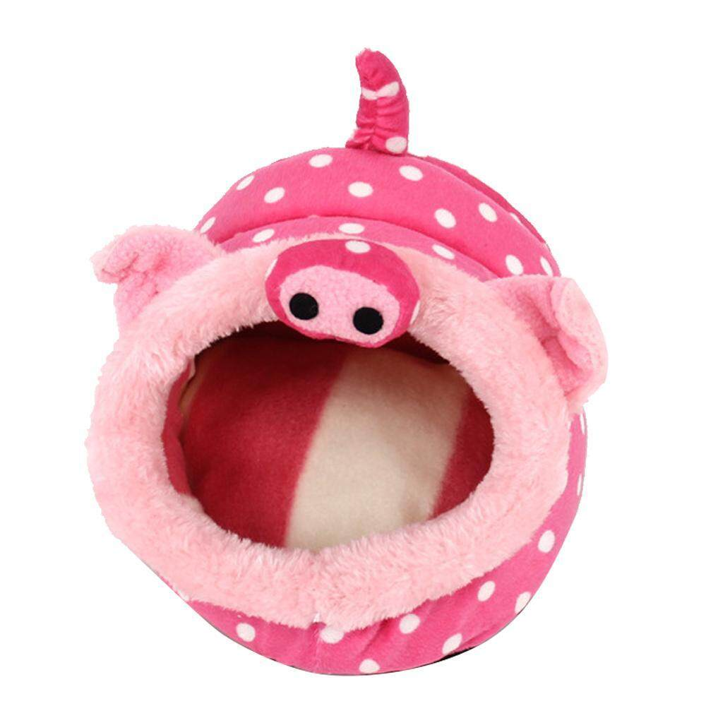 Jaywog Cute Animal Design Pet Cotton Nest House For Guinea Pig,hamster,chihuahua,snakes, Spiders And Other Small Pet - Intl By Wangyalian.