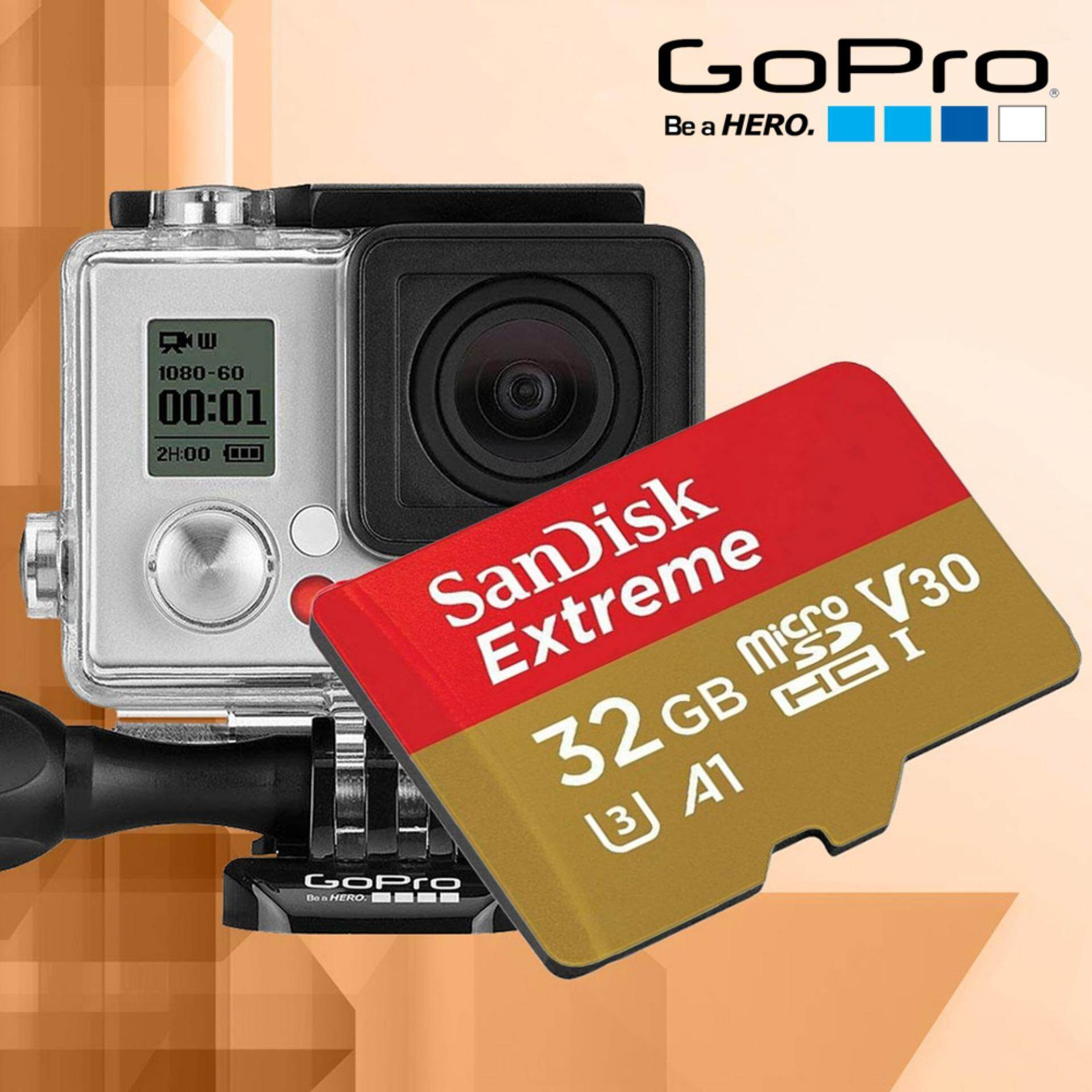 Fitur Sandisk Extreme 32gb 100mb S Micro Sd Memory Card A1 Class 10 Microsdhc Uhs I 3 4k 90mb Detail Gambar V30 U3 Ultra Hd Uhd With Adapter For Action Camera