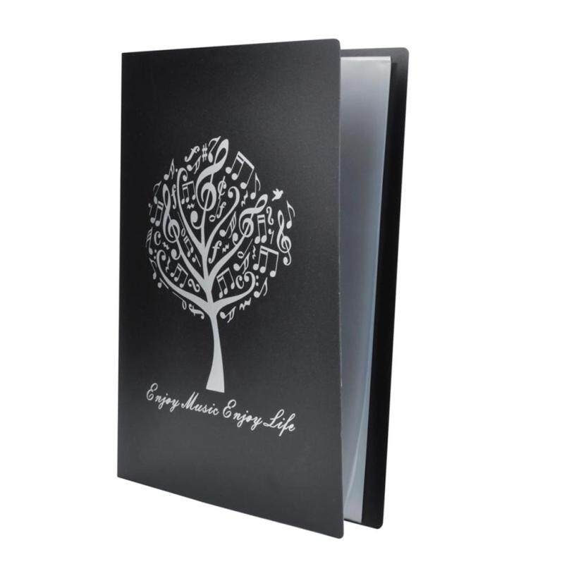 Miracle Shining Music Sheet Folder Documents Folder Paper File for Music Lovers #2 Black Malaysia