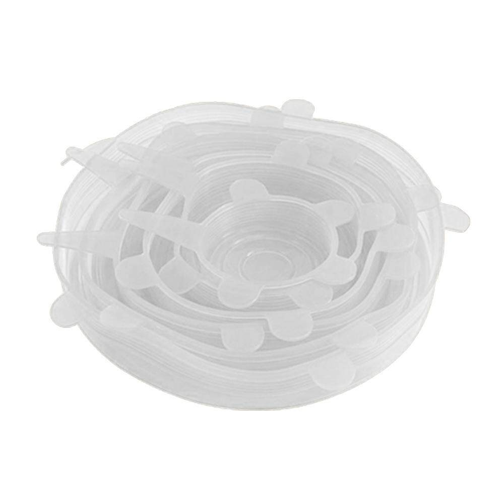 goges Silicone Stretch Lids Reusable Durable Expandable To Fit Various Sizes Keeping Food Fresh And Freezer Safe - intl