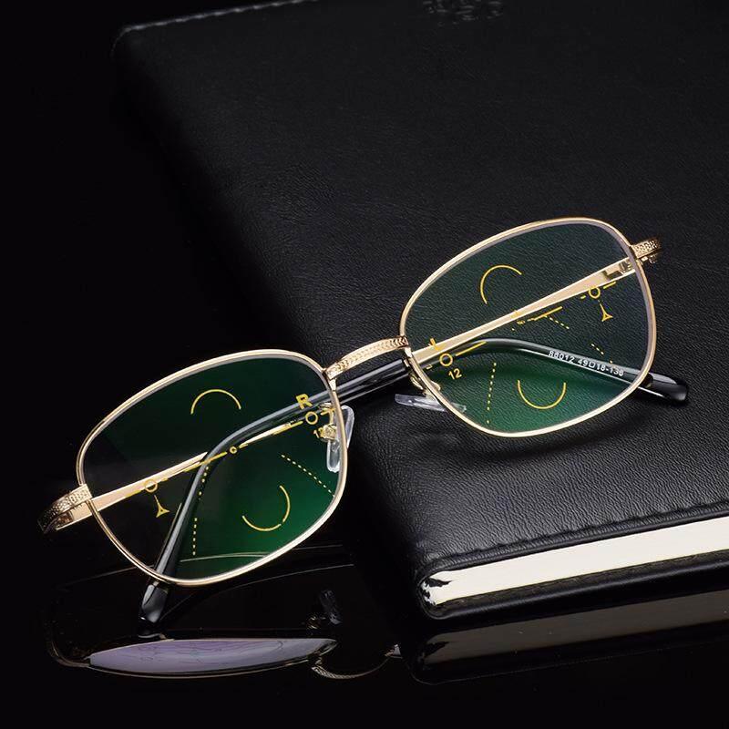 Kcasa KC-Pria Internal Progresif Multifokal Lensa Presbiopia Cerdas Kacamata  untuk Membaca + 150- 2e1f7041e3