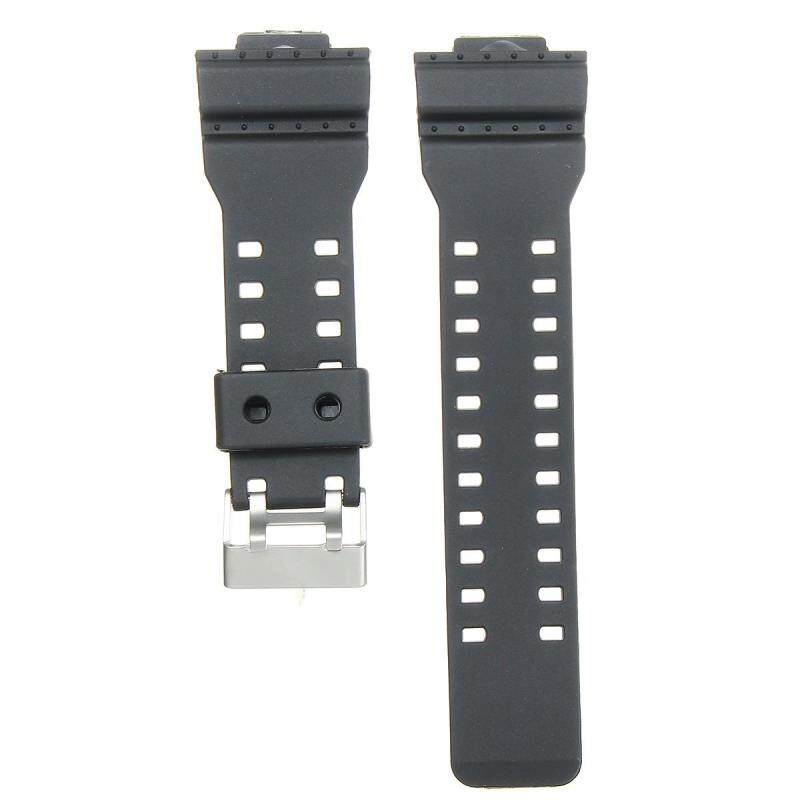 22mm Frosted Silicone Rubber Watch Band Strap For CASIO G Shock Replacement New Malaysia