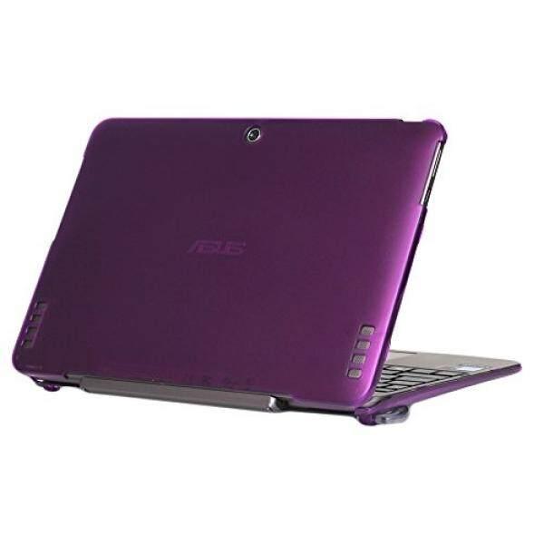 Ipearl Mcover Keras Cangkang Case untuk 10.1 ASUS Buku Transformer T100HA Seri 2-Dalam-1 Laptop-Ungu -Internasional
