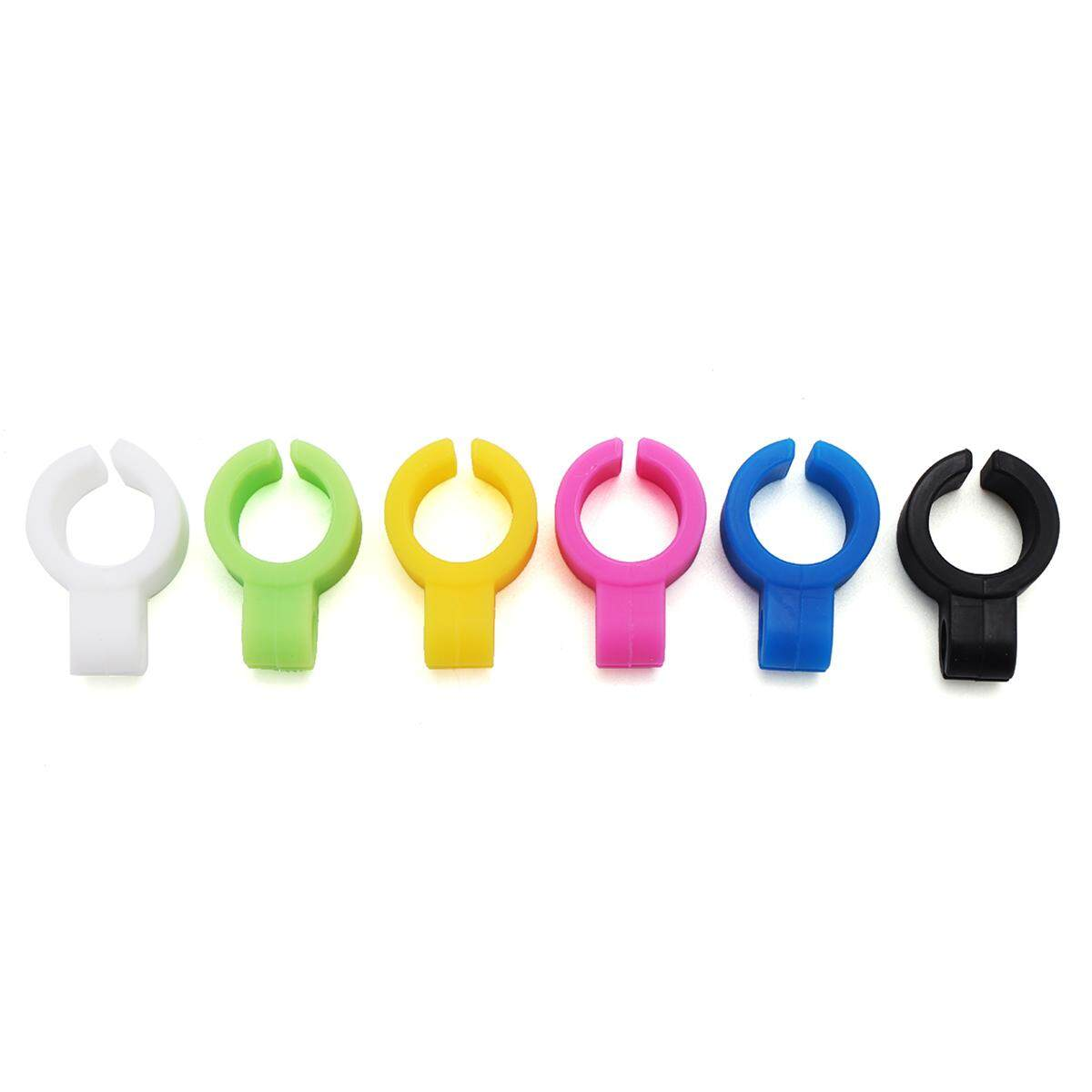 6pcs Silicone Ring Finger Hand Rack Holder For Regular Smoking Smoker - Intl By Threegold.