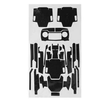 Carbon Fiber Stickers Decal Skin Protector CO003 for RC DJI Mavic Pro Drone - intl