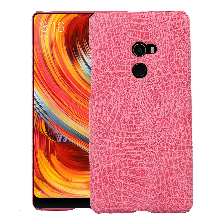 Untuk Xiaomi MAX2 Kulit Case Mewah Buaya Kulit untuk Xiaomi MAX2 Belakang Sarung Aksesoris Telepon Antik