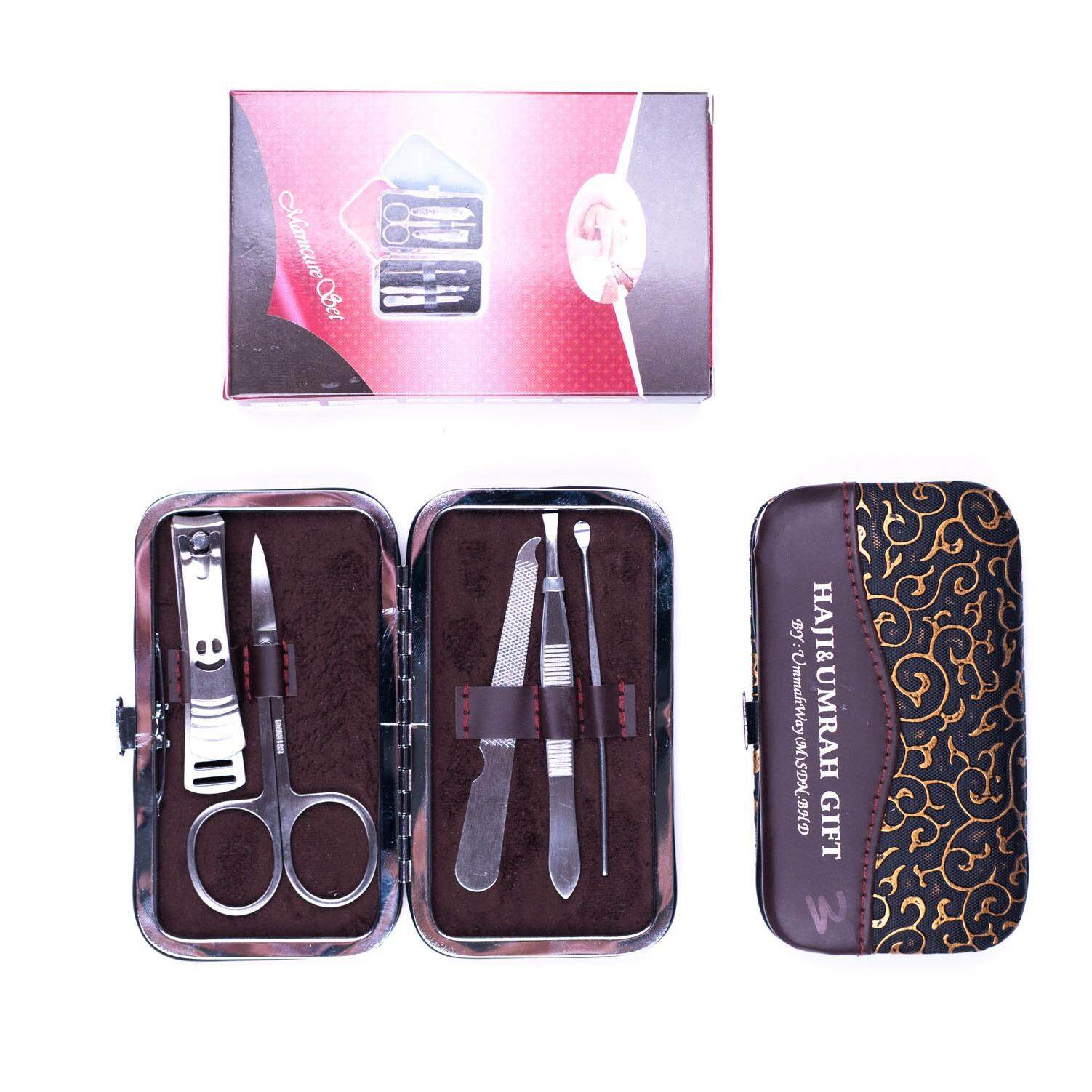 Manicure Set Nail Clippers Callus Hard Skin Pedicure Kit Tools With Case