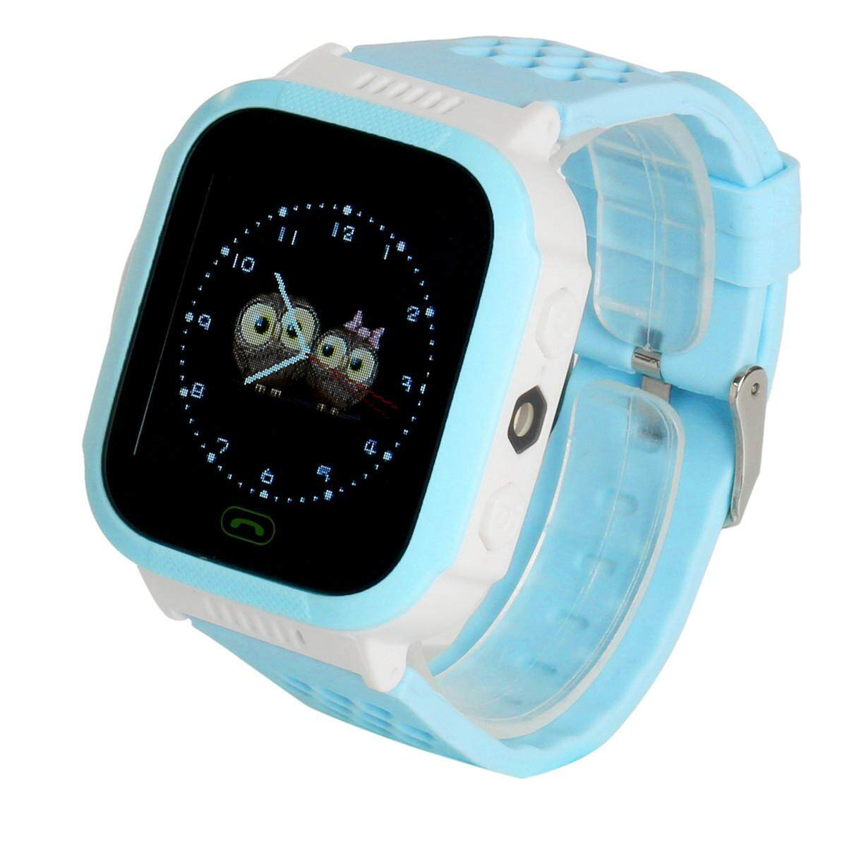 Beli Anti Lost Children Kids Gps Tracker Sos Call Smart Wrist Watch Phone For Phone Intl Baru