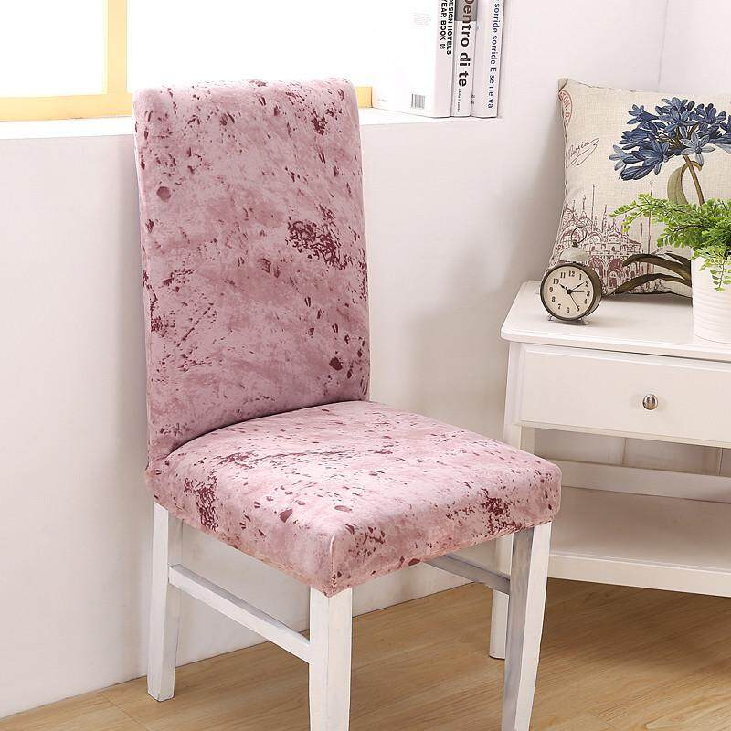 Hình ảnh Spandex Stretch Minimalist Solid Color Chair protective Slipcover Case Anti-dirty Elastic Dining Banquet Chair Covers