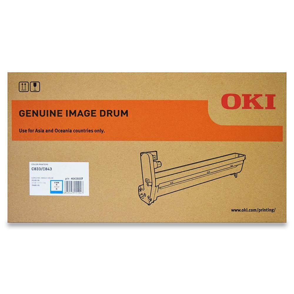 OKI C833 Drum cartridge 30k pages - Cyan (46438007)