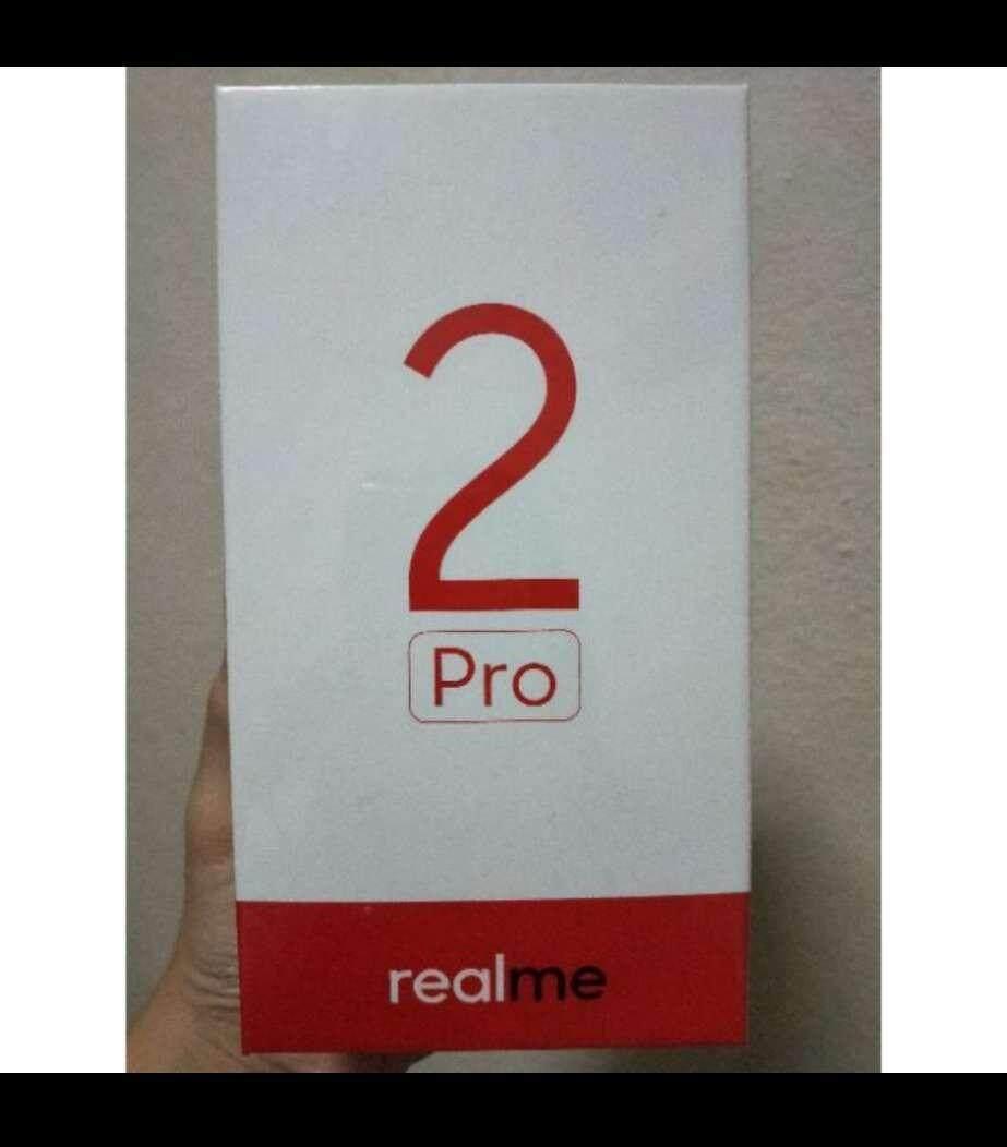 Realme 2 Pro 8GB RAM + 128GB memory (Used 1 week)