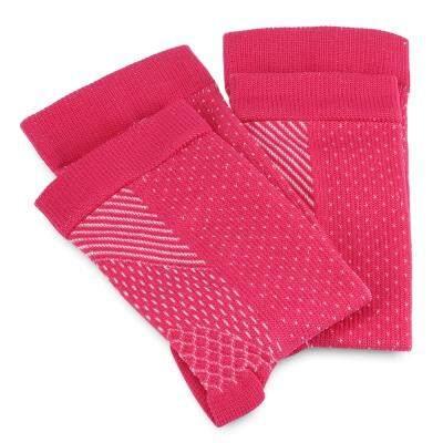 Plantar Fasciitis Anti-fatigue Compression Socks Foot Sleeve (DEEP PINK)