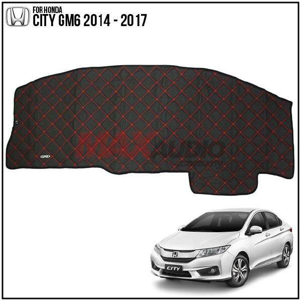 HONDA CITY GM6 2014 - 2017 DAD GARSON VIP Custom Made Non Slip Dashboard Cover Mat