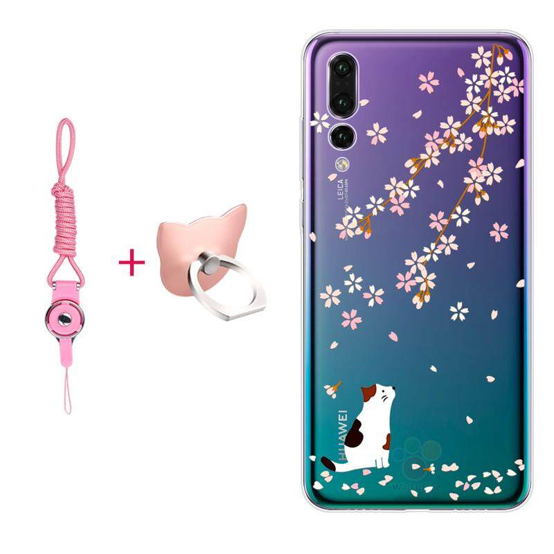Price For Huawei P20 Pro Case Clear Print Flower Soft Tpu Back Cover For Huawei P20 Pro Phone Case Intl Alysvia Online