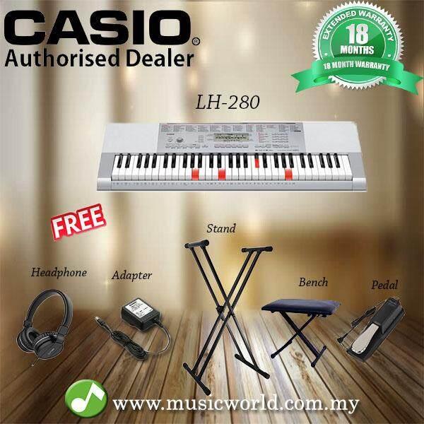 CASIO LK-280 Lighting Portable Keyboard Premium Bundle (LK280 / LK 280)  Malaysia