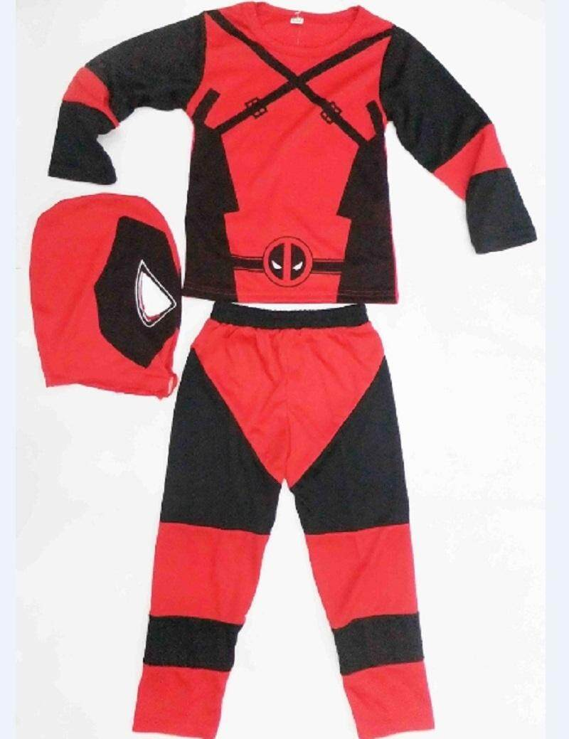 features boy deadpool costume halloween costume for kids role play