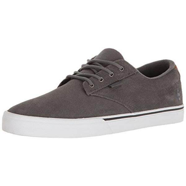 Etnies Mens Jameson Vulc Skateboarding Shoe, Grey/Brown, US