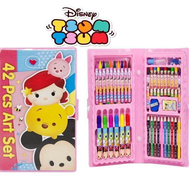 Disney Tsum Tsum 42pcs Art Set