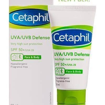 Cetaphil UVA UVB Defense SPF50+ 50ml