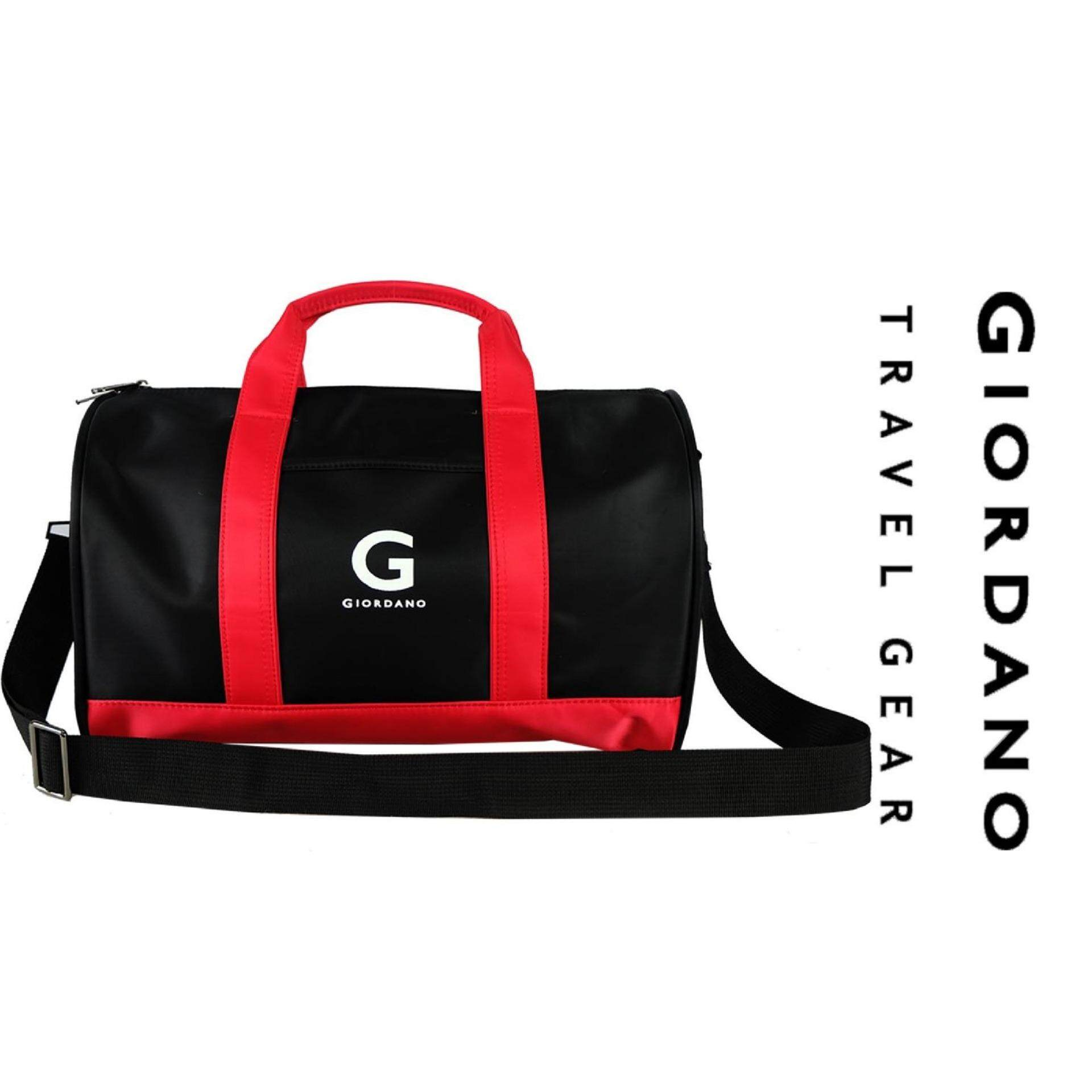 "Giordano 15"" Stylish Travel Gear GT9609- Black/Red"