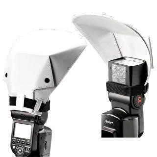 Phổ Flash Thoát Reflector Diffuser, Dành Cho Canon Nikon Pentax Sony Metz Metco thumbnail