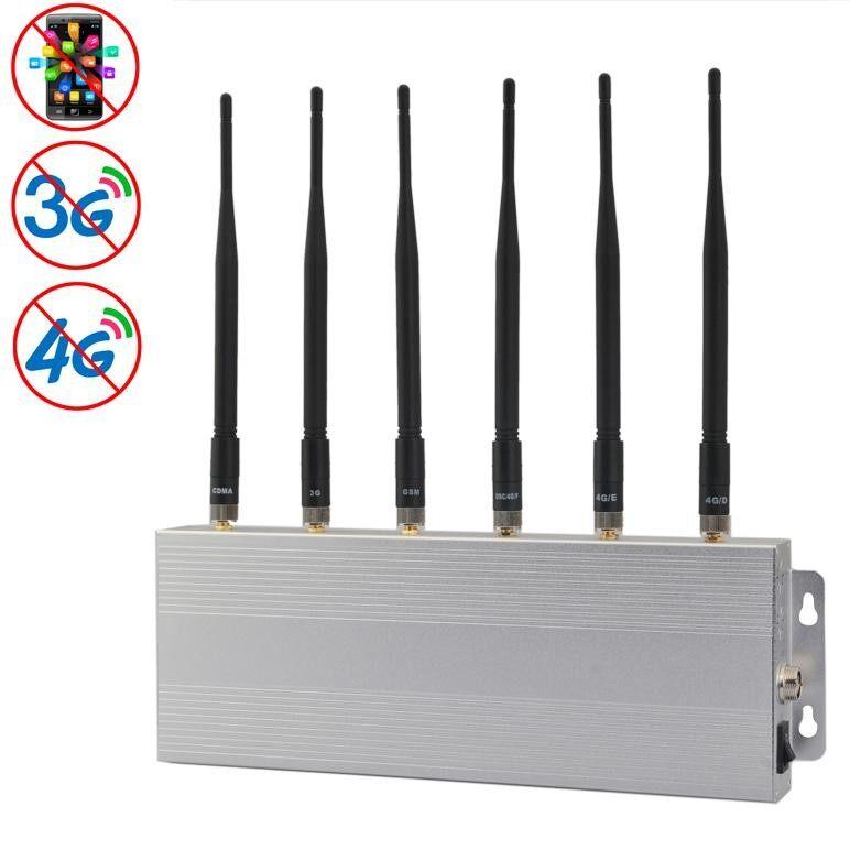 GSM / CDMA / DCS / 3G / 4G Mobile Phone Signal Breaker / Jammer / Isolator, Coverage: 30meters (JAX-101D-6) - intl