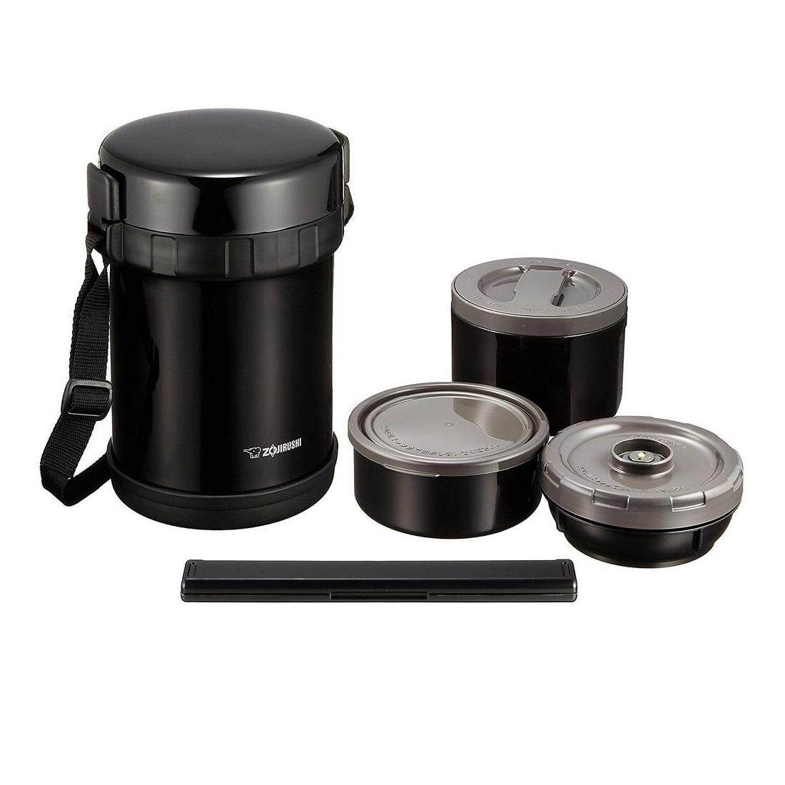 ZOJIRUSHI 1.27 L LUNCH JARS – SL-GH-18-BA (BLACK)