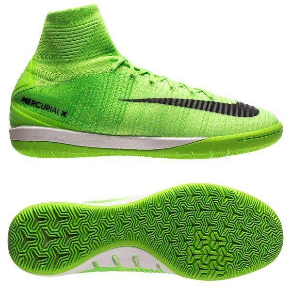 fb357de31da ... shoe 1574d 74525  germany 100 authentic nike mercurialx proximo ii df  futsal electric green black 1b34c d429a