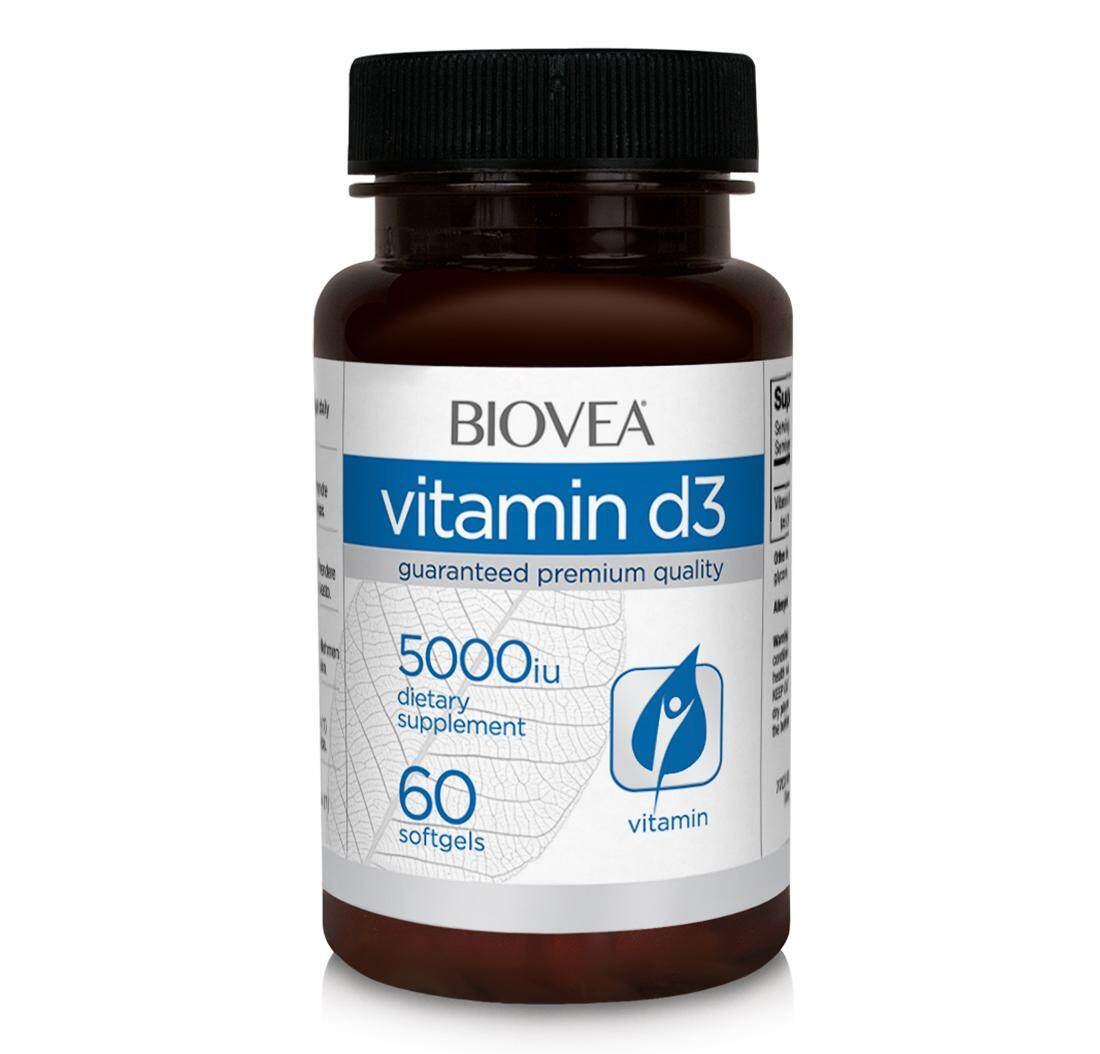 VITAMIN D3 5,000 IU 60 Softgels