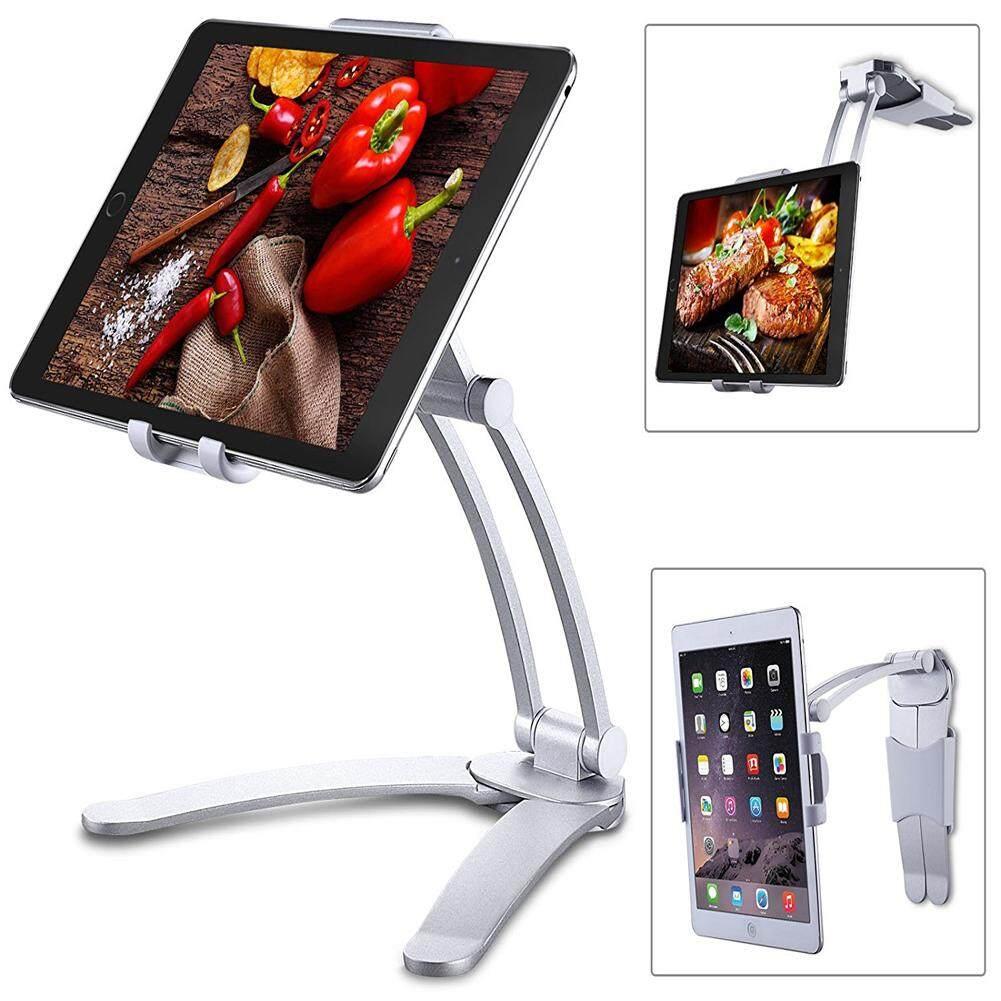 Kitchen Tablet iPad Stand Adjustable Holder Wall Mount for iPad Pro, Surface Pro, iPad Mini