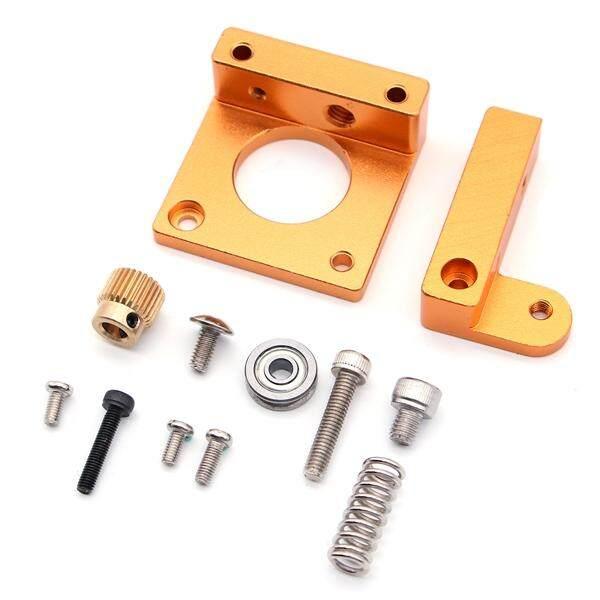 MK8 Alat Pengekstrusi Aluminum Kotak Bingkai Perlengkapan Hasil Karya Sendiri Filamen Ekstrusi Pengganti Aksesori Buatan Tangan Kit 3D Printer Aksesoris untuk 3D Printer