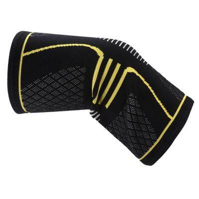 Sport Running Climbing Protection Knitting Kneepad (YELLOW)