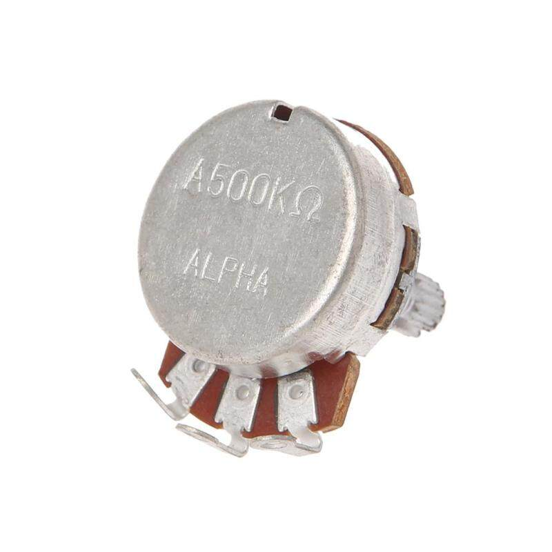 A500K OHM Audio POTS Potentiometer 24mm Base Replace for Electric Guitar Malaysia