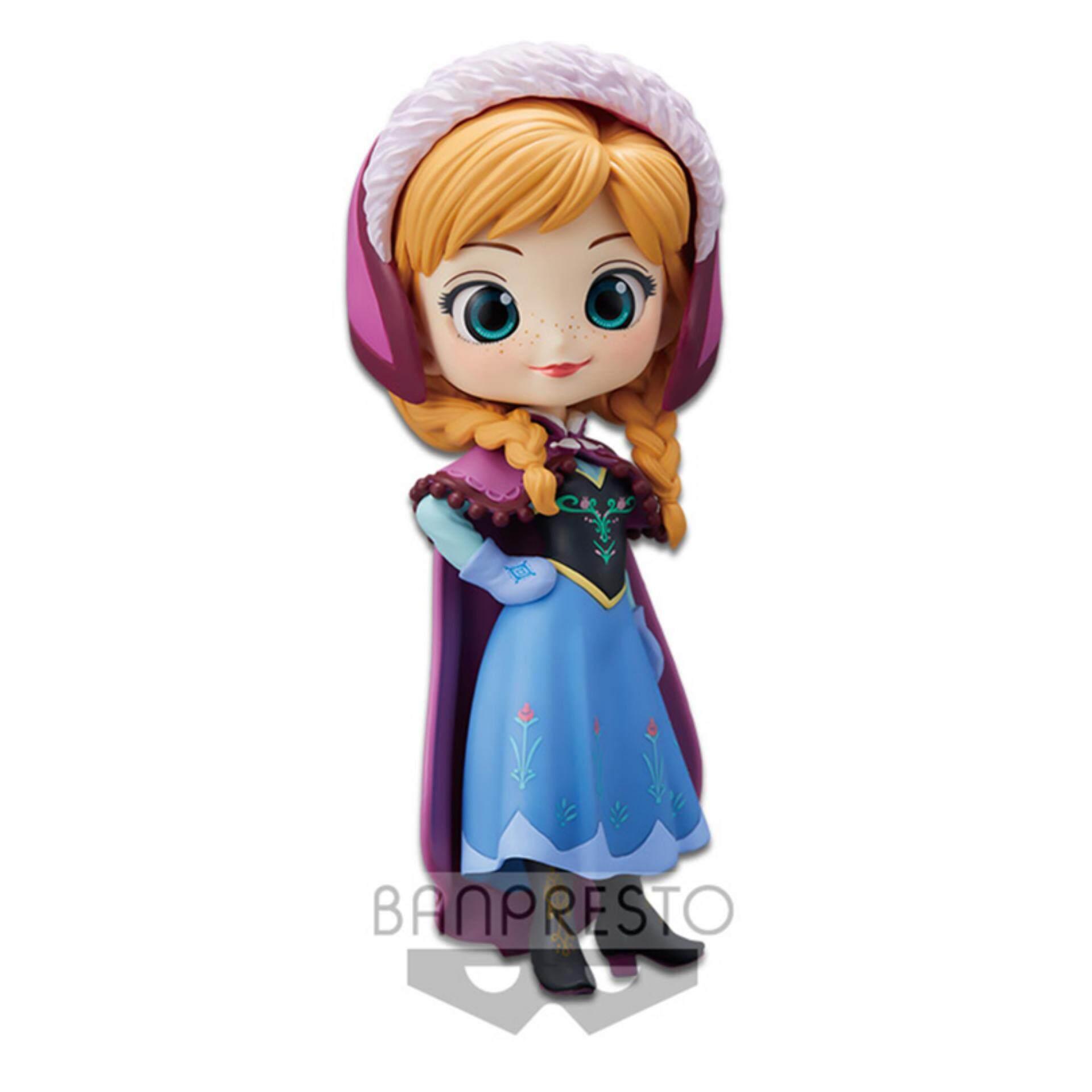 Banpresto Q Posket Disney Princess Figure Pastel Version - Anna Toys for boys