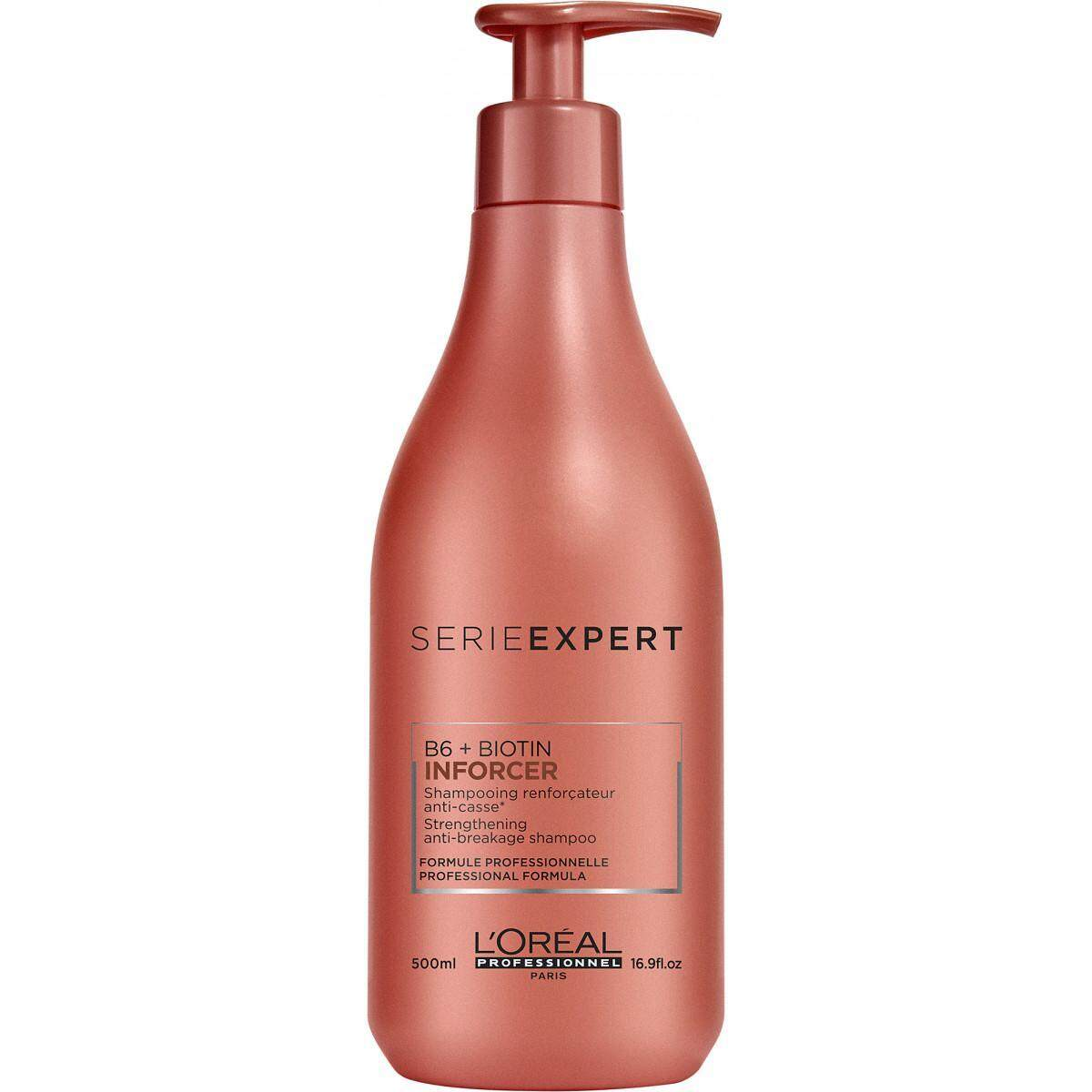 Loreal Professionnel Serie Expert Inforcer B6+Biotin Shampoo (500ml) (for Damage Hair)