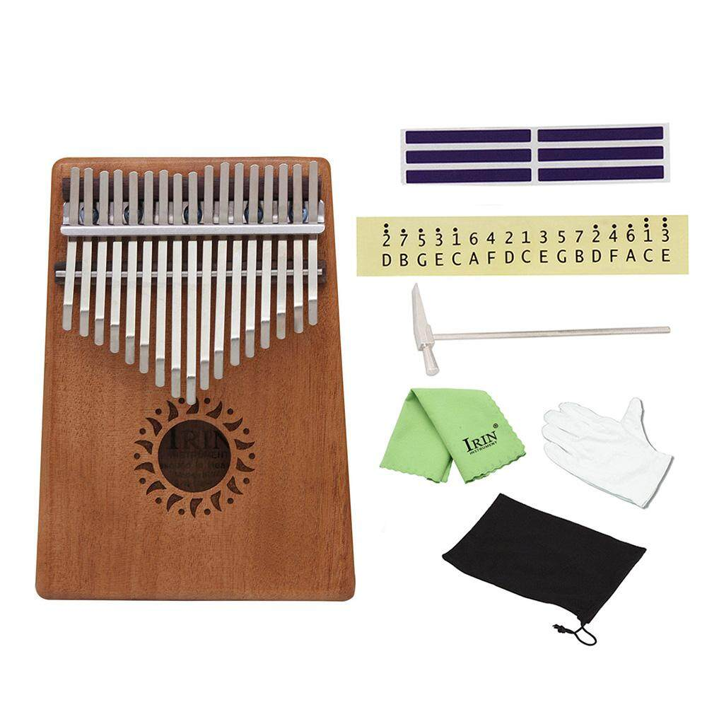 Portable 17 Key Kalimba Mbira Pocket Thumb Piano Intl Coupon