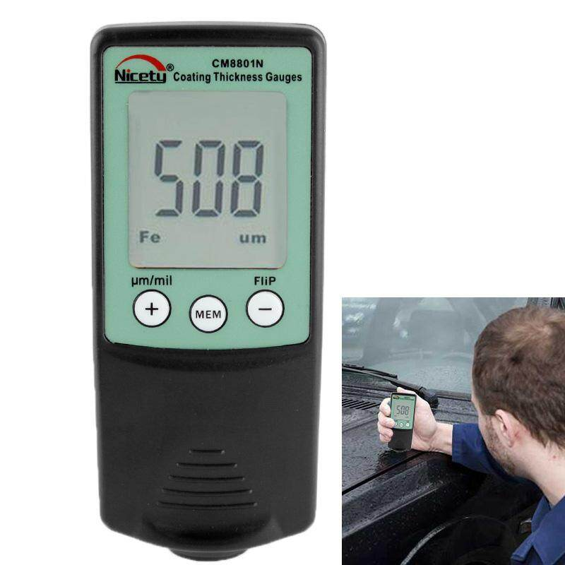 NICETY Coating Thickness Gauge for Measurement of Electrically Non-conductive Coating on Non-ferrous Metals (CM8801N)
