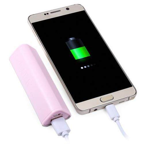 2600MAH MULTIFUNCTION TRIANGLE PHONE HOLDER PORTABLE CHARGER POWER BANK MOBILE EXTERNAL BATTERY (GREEN)
