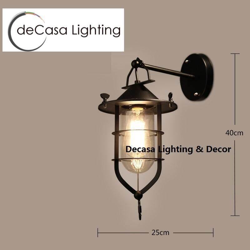 Decasa Lighting Best Seller Decorative Wall Lights (Black) Designer ...