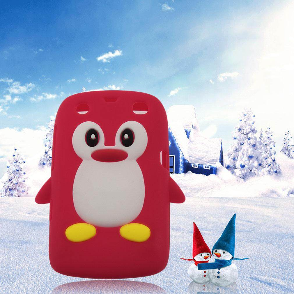 USTORE 3D Penguin Shape Silicone case cover for Blackberry 9360 /9350 /9370/Curve PT171 - intl
