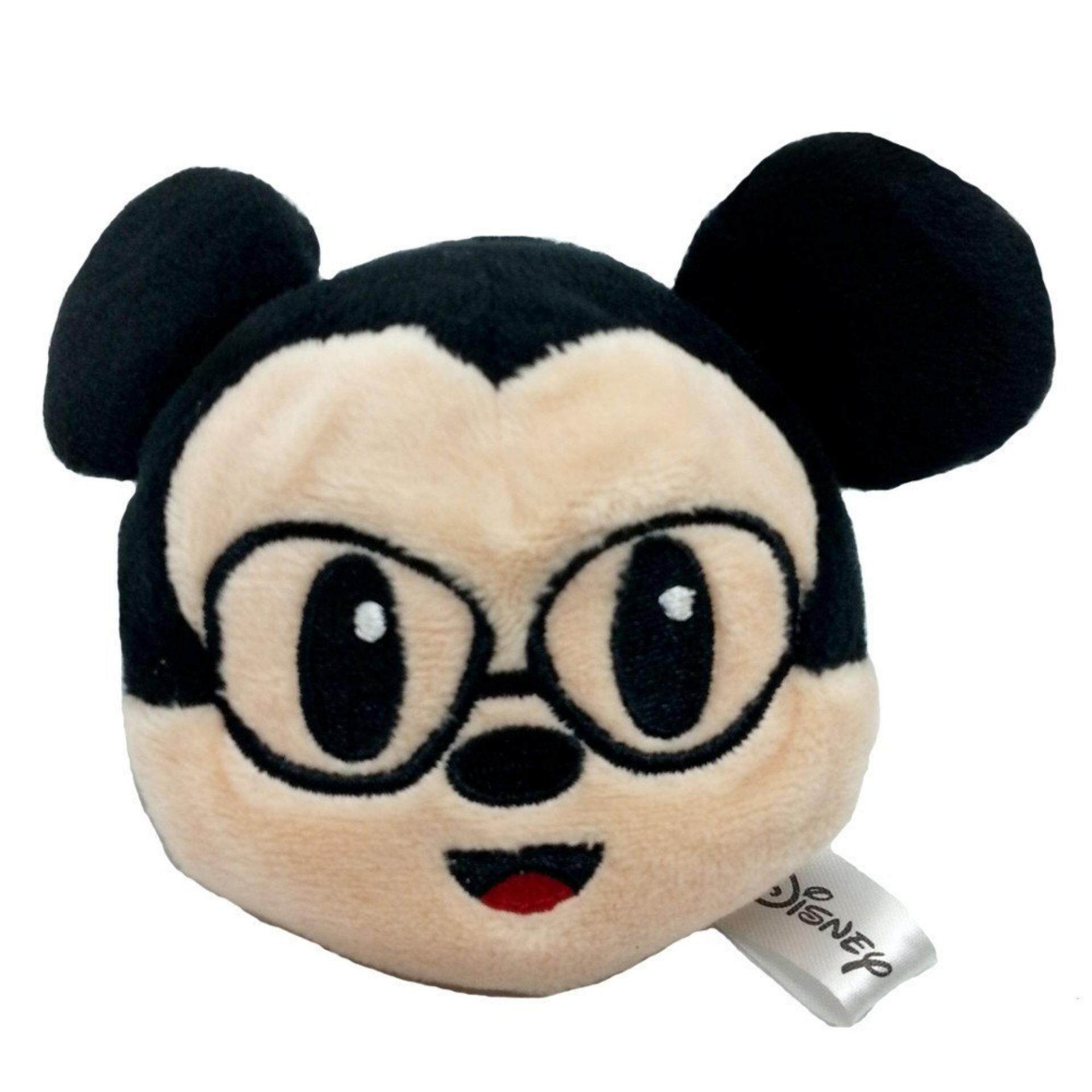 Disney Emoji Beanbags 2.5 Inches - Mickey Nerd toys for girls