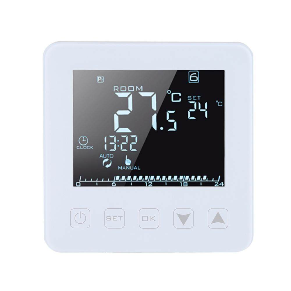 SHANYU 16A Programmable LCD Screen Electric Heating Thermostat Room Temperature Controller