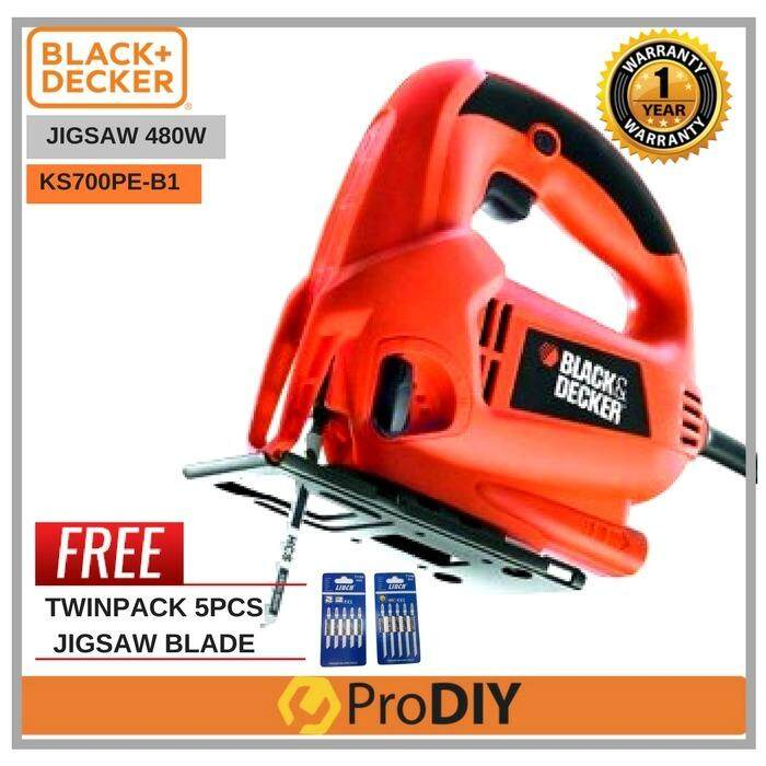 Home power saws buy home power saws at best price in malaysia black decker ks700pe b1 jigsaw variable speed trigger jigsaw foc twinpack 5pcs greentooth Choice Image