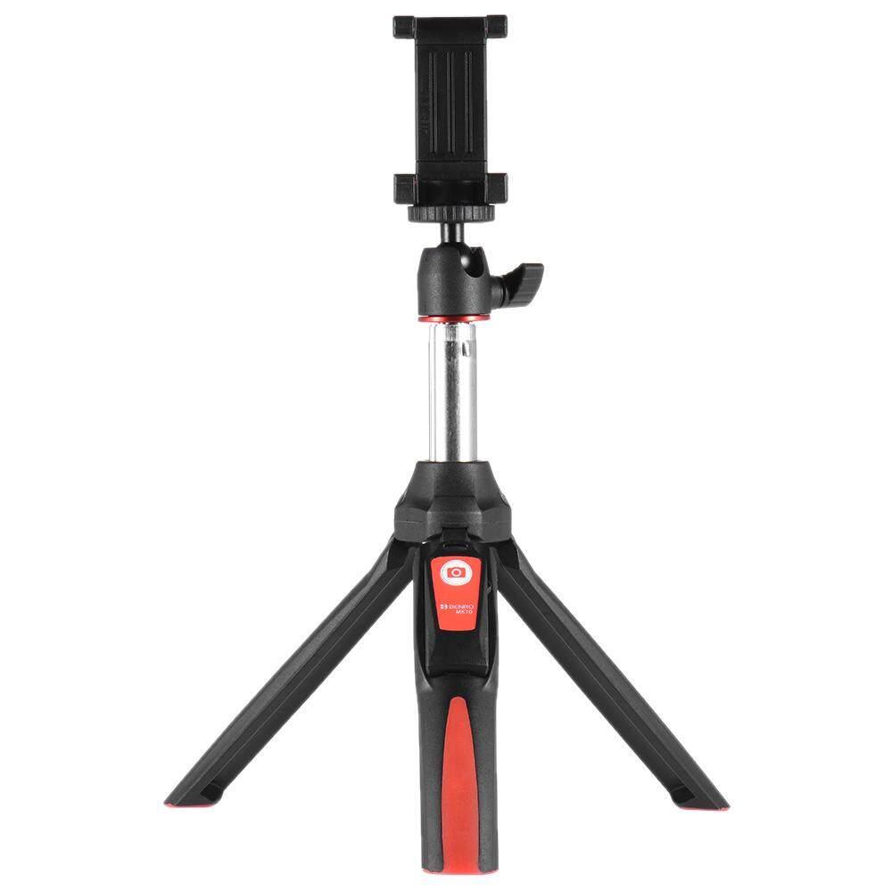 Benro MK10 Handheld Dapat Diperpanjang Mini Tongkat Tripod Selfie dengan Remote Shutter Kendali untuk Ios iPhone 5 S/6 S/6 S PLUS & Android Smartphone Ponsel untuk GoPro-Intl
