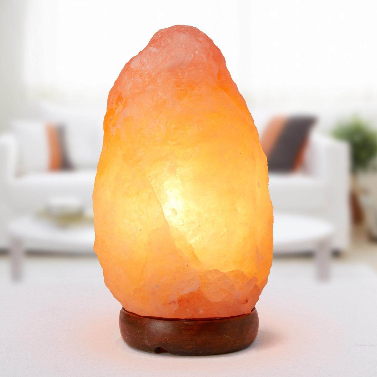 Home lamp shades buy home lamp shades at best price in malaysia 3 5kg himalayan salt crystal lamp natural 1 bulb mozeypictures Gallery