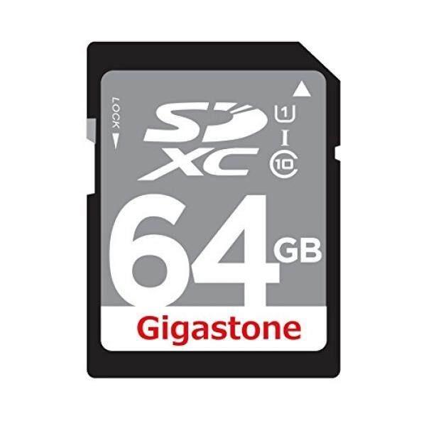 Gigastone 64 GB Kelas 10 UHS-1 U1 Prime SD XC Kartu Memori Hingga 45 MB/s [Kompatibel dengan Canon EOS Rebel T5 t5i T6 T6i 80D 6D SL1 Nikon D3300 D5500 D5600 D7200 D750 Sony Pentax Kodak Olympus Panasonic]-Intl