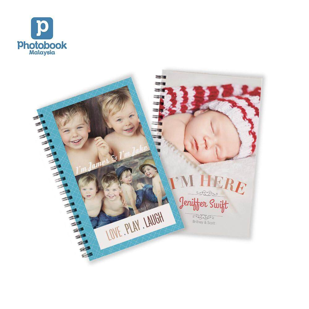 [e-Voucher] Photobook Personalized Disney Mickey Mouse Notebook 5 x8 - 2 Identical Copies