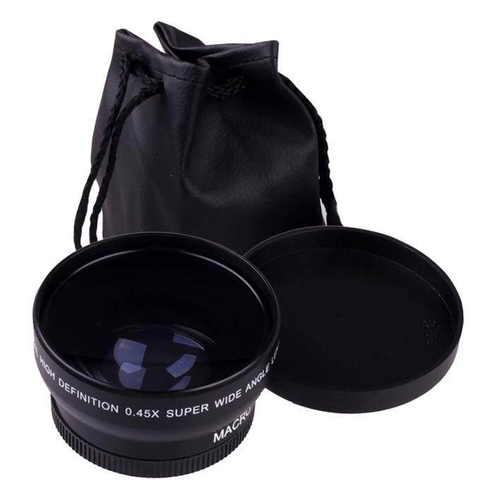 52 Mm 0.45X Makro Sudut Lebar Lensa untuk Nikon D5000 D5100 D3200 D3100 D90-Intl